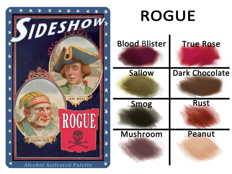Sideshow - Rouge Palette - Precious About Make-up, (product_title),Alcohol Palette, AFX