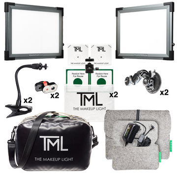 The Makeup Light (TML) - Master Kit Graphite - Precious About Make-up, (product_title),LIghts, TML