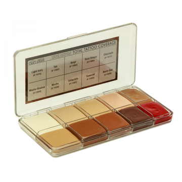 Total Tattoo Cover Palette - Light Tones - Precious About Make-up