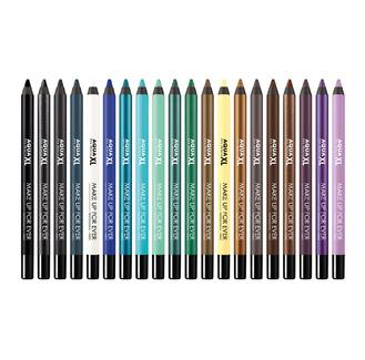 Make Up For Ever Aqua Xl Eye Liner - This innovative formula is waterproof and long lasting, gives you intense, rich colors and and ultra smooth glide for easy application. The line is super-precise and ultra-resistant, while the creamy texture blends easily with a brush for a soft, blurry finish. Choose your shade from five XL finishes: matte, satiny, iridescent, metallic or diamond. *All day long perception tested on 32 subjects during 4 weeks.