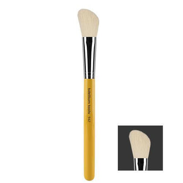 Bdellium Studio 942: Slanted Contour Brush - Precious About Make-up, (product_title),Brushes / Tools, Bdellium