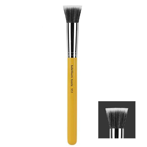 Bdellium Studio 953: Duet Fibre Foundation Brush - Precious About Make-up, (product_title),Brushes / Tools, Bdellium