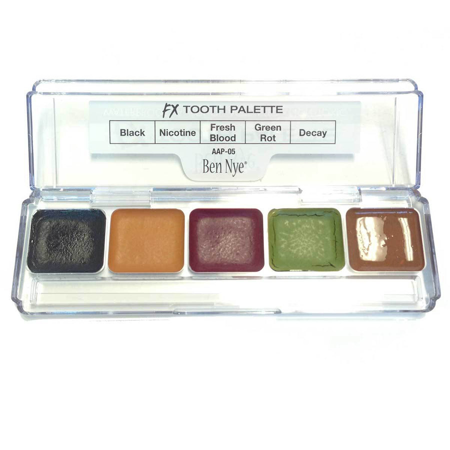Ben Nye FX Tooth Palette - Precious About Make-up, (product_title),teeth, Ben Nye