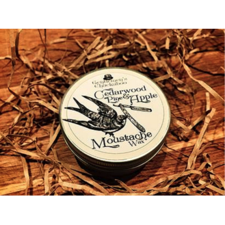 Gentlemen's Chuckaboo Moustache Wax - Cedarwood Pine & Apple