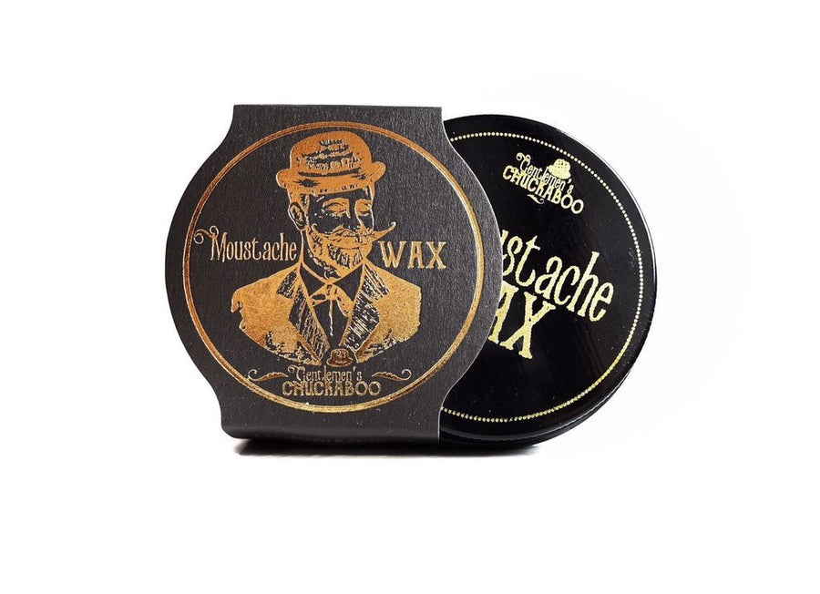 Gentlemen's Chuckaboo Moustache Wax - Black Pepper & Cardamom - Precious About Make-up, (product_title),Facial Hair, Gentlemen's Chuckaboo