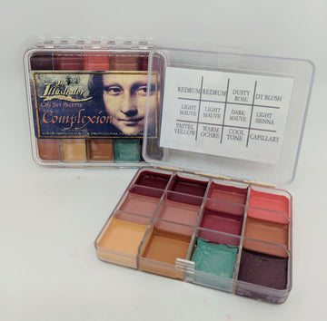 PPI Skin Illustrator On Set Complexion Palette - Precious About Make-up, (product_title),SFX, PPI