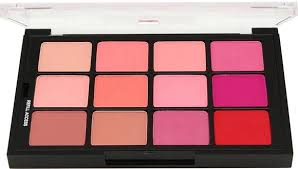 Ben Nye Studio Color Palette - Fashion Blush (STP-61) (12 refillable shades) - Precious About Make-up, (product_title),Make Up, Precious About Make-up