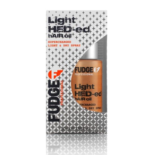 Fudge Hed-ed Hair Oil Light & Dry Spray - Precious About Make-up