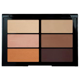 Viseart Highlight & Sculpt Palette includes three powder highlighters and three sculpting shades designed to compliment a wide range of skin tones. Triple-milled, matte powder pigments apply seamlessly and adjust easily from sheer to fuller coverage. Not tested on animals. No paragons, silicone or mineral oils.