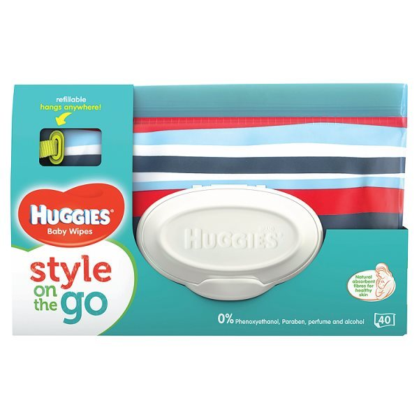 On the go Refillable Pouches (Huggies)