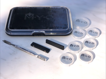 M.Y.O Transparent Pro Kit - Precious About Make-up, (product_title),Palette, M.Y.O
