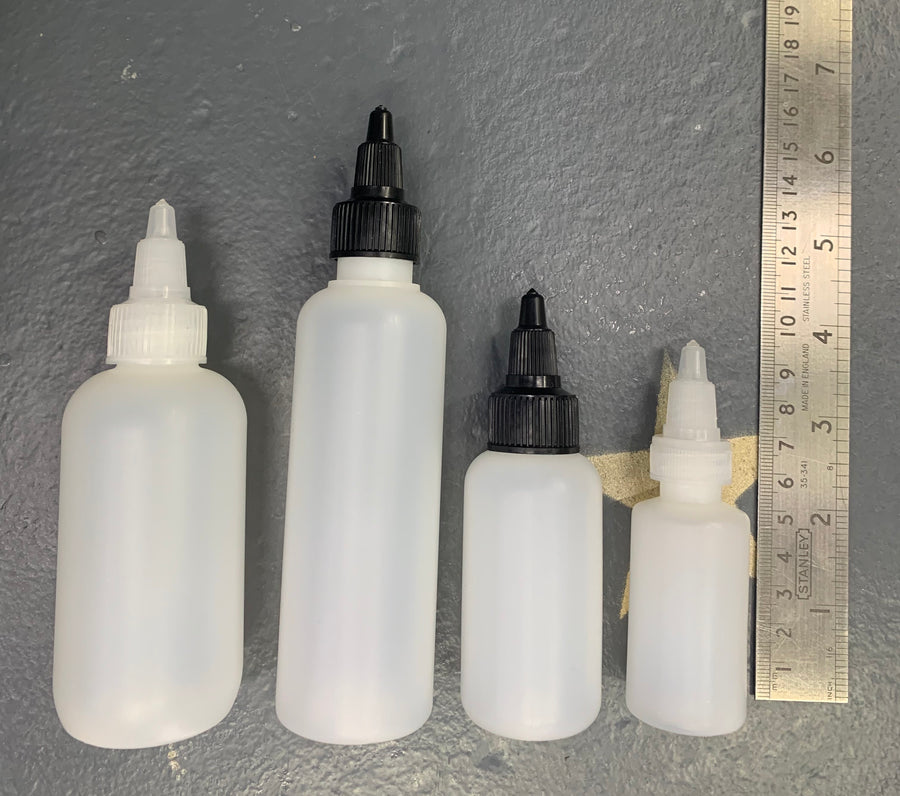 American Twist Top Bottles/Empty Bottles - Precious About Make-up