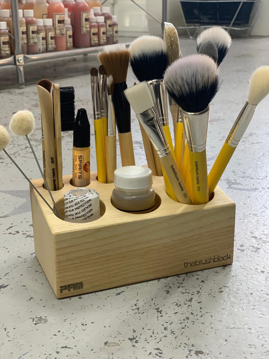 The Brush Block Mini - Precious About Make-up, (product_title),Brushes / Tools, Precious About Make-up