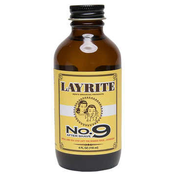 Layrite No.9 Aftershave (4oz/118ml)