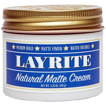 Layrite Natural Matte Cream - Precious About Make-up, (product_title),HAIR, Layrite