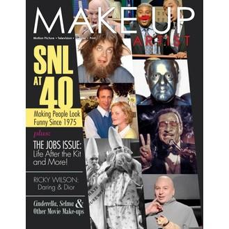 Makeup Artist Magazine - This fantastic Magazine covers all sorts of interesting areas from the international world of the make up artist. Including articles on make-ups from large scale film and TV productions, interviews with top designers and model-makers, Fashion shoots,handy tips and techniques, SFX, and cutting edge products. Issued bi-monthly ( 6 issues per year )