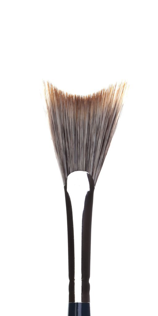 London Brush Company NouVeau 17 Soft Concave Fan Brush - Precious About Make-up, (product_title),Brushes / Tools, London Brush Company