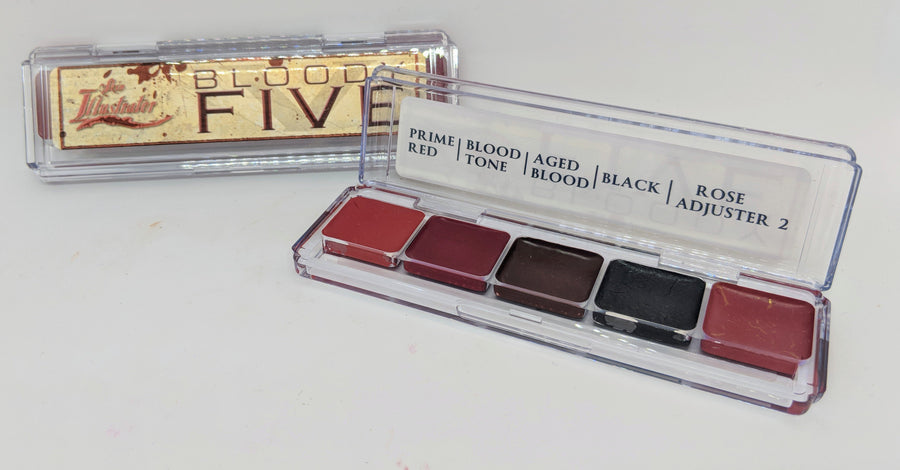 PPI Skin Illustrator Bloody Five Palette - Precious About Make-up