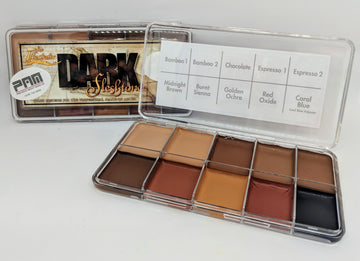 PPI Skin Illustrator Dark Fleshtone Palette - Precious About Make-up