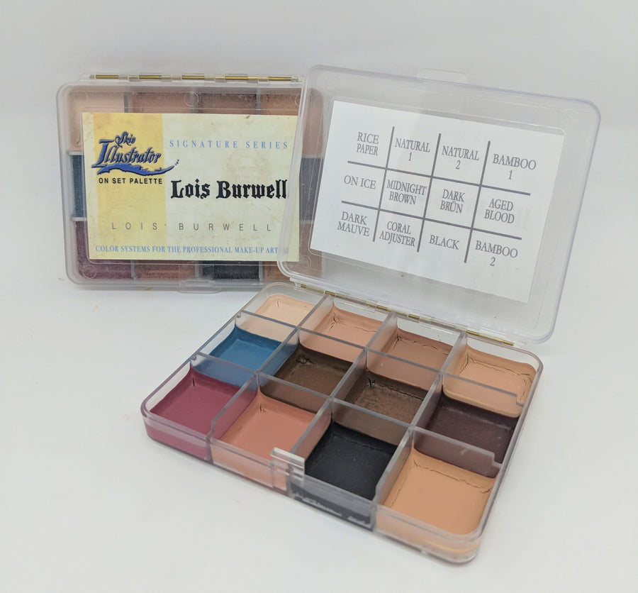 PPI Skin Illustrator On Set Lois Burwell Palette - Precious About Make-up, (product_title),SFX, PPI