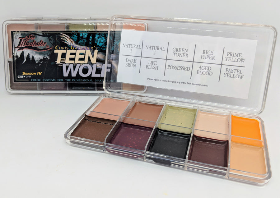 PPI Skin Illustrator Teen Wolf Palette - Precious About Make-up, (product_title),SFX, PPI