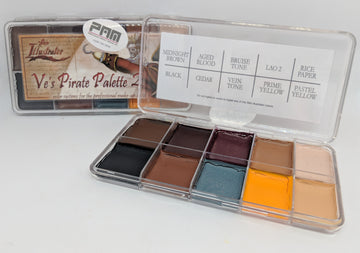 PPI Skin Illustrator Ve's Pirate Palette 2 - Precious About Make-up
