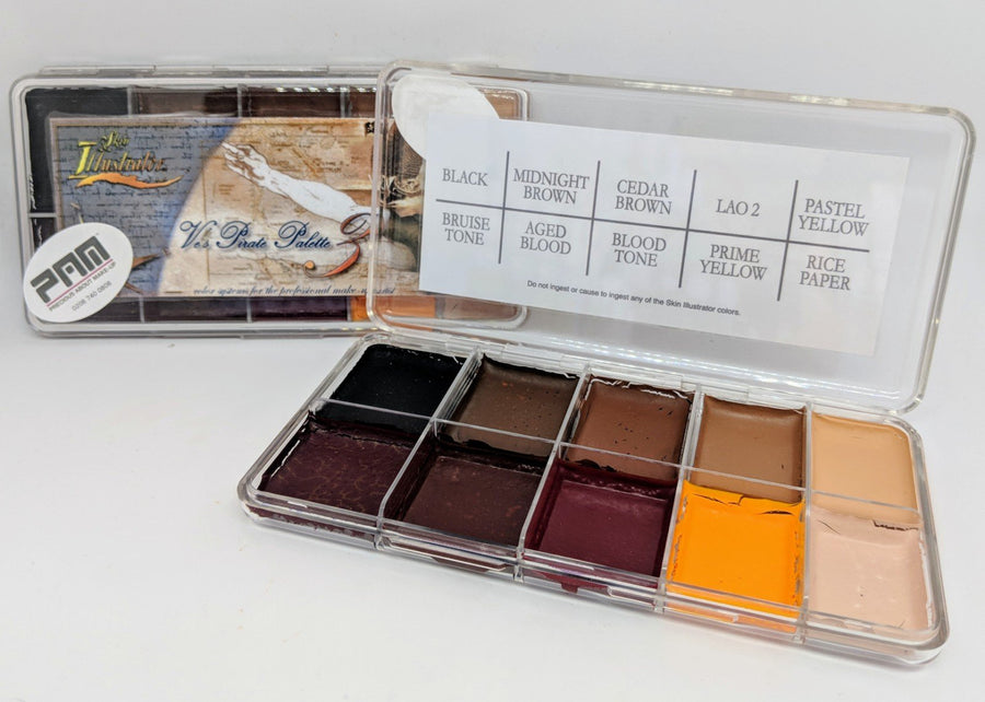PPI Skin Illustrator Ve's Pirate Palette 3 - Precious About Make-up, (product_title),SFX, PPI