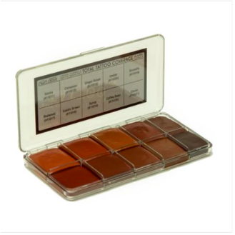 Total Tattoo Cover Palette - Dark Tones - Precious About Make-up, (product_title),SFX, Jordane