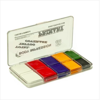 Total Tattoo Cover Palette - Primary Colours - Precious About Make-up, (product_title),SFX, Jordane