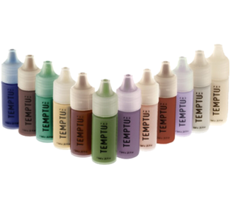 Temptu Multi Colours Pack - Temptu's SB colours for the airbrush are now available in this handy 12 colour pack. The pack contains 12 small bottles in several colours.