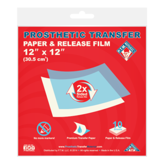 Prosthetic Transfer Papers (PTM) - Precious About Make-up