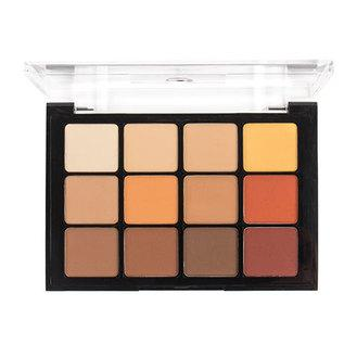 Viseart Eyeshadow Palette 10 Warm Matte