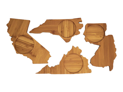 State & Country Shaped Coasters