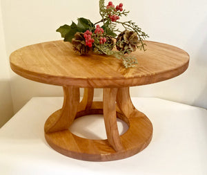Custom Cake Stand, Rustic Cake Stand, Country Wedding decor, Round Cake Stand
