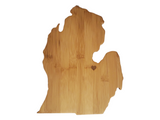 ANY STATE ENGRAVED Bamboo Cutting Board, Heart over City, Cheese Board, Serving Tray, 12 inch Butcher's Block