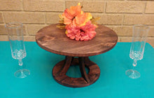 Custom Cake Stand, Wood Wedding Cake Stand, Rustic Cake Stand, Country Wedding decor, Round Cake Stand