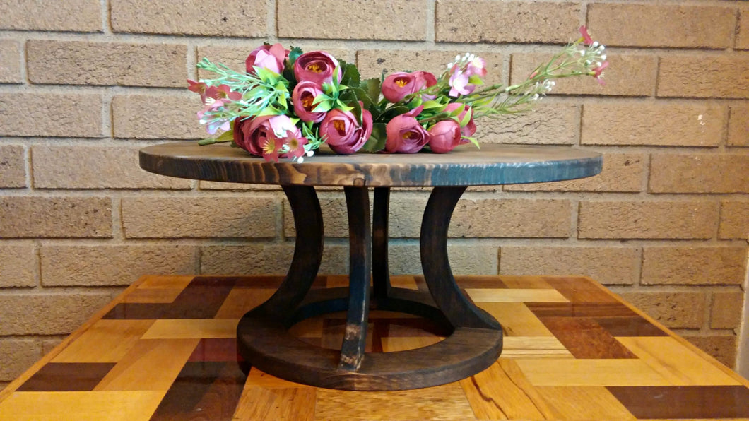 Rustic Cake Stand, Reclaimed wood, Custom Cake Stand, Wedding Cake Stand, Country Wedding decor, Round Cake Stand