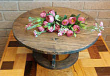 Reclaimed Wood Cake Stand, Custom Cake Stand, Rustic Cake Stand, Country Wedding decor, Round Cake Stand