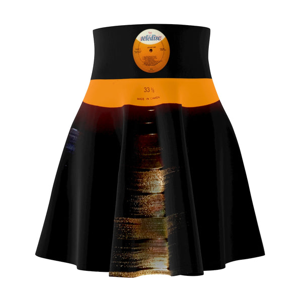 Vinyl LOOK! Unique Women's Skater Skirt
