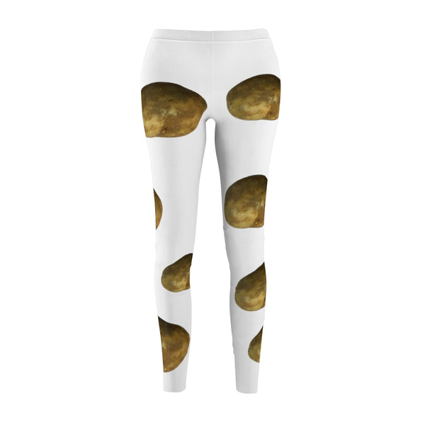 Potatos_Women's Cut & Sew Casual Leggings