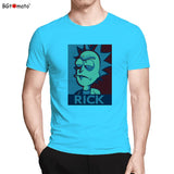 BGtomato T shirt Rick and Morty super cool anime shirt 2017 New arrival fashion tshirt men Original brand hip hop tee shirt