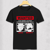 Free Shipping Fashion Nirvana T-Shirt Short Sleeve Teenages Nevermind Morty and Rick T shirt Funny Nerd  cotton Top Tees