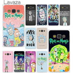 Lavaza Rick and Morty Season Hard Case for Samsung Galaxy S3 S4 S5 & Mini S6 S7 Edge S6 S8 Edge Plus