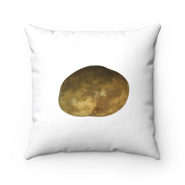 Potato_Spun Polyester Square Pillow
