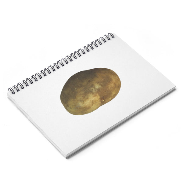 Potato_Spiral Notebook - Ruled Line