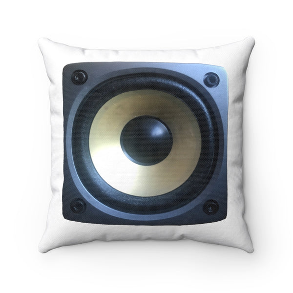 SPEAKERS Spun Polyester Square Pillow