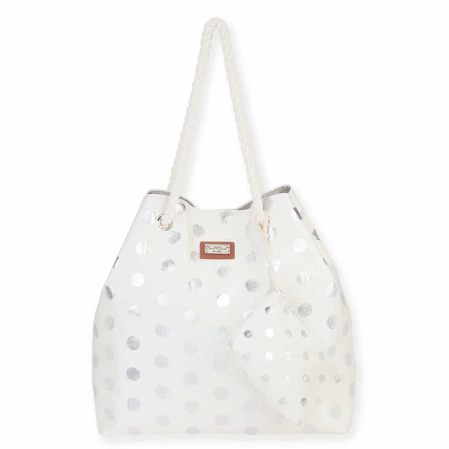 Pasha Gap Tote by Sun N Sand - Silver