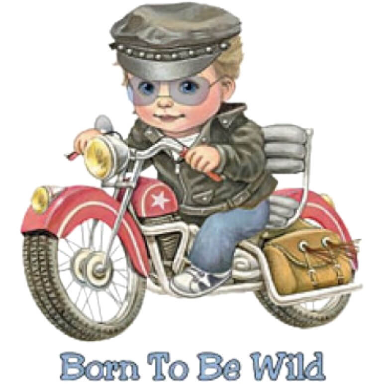 Born To Be Wild Printed T-Shirt