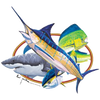 Marlin, Mahi Mahi, Shark, and Tuna T-Shirt