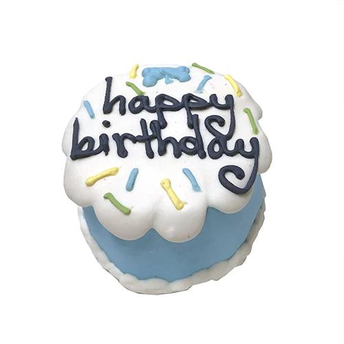 Blue Birthday Baby Cake Dog Treat